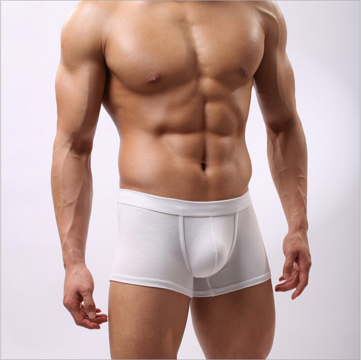 1 Pcs Hot Sales U Style Sexy Boxer For Men Shorts Mens -4911