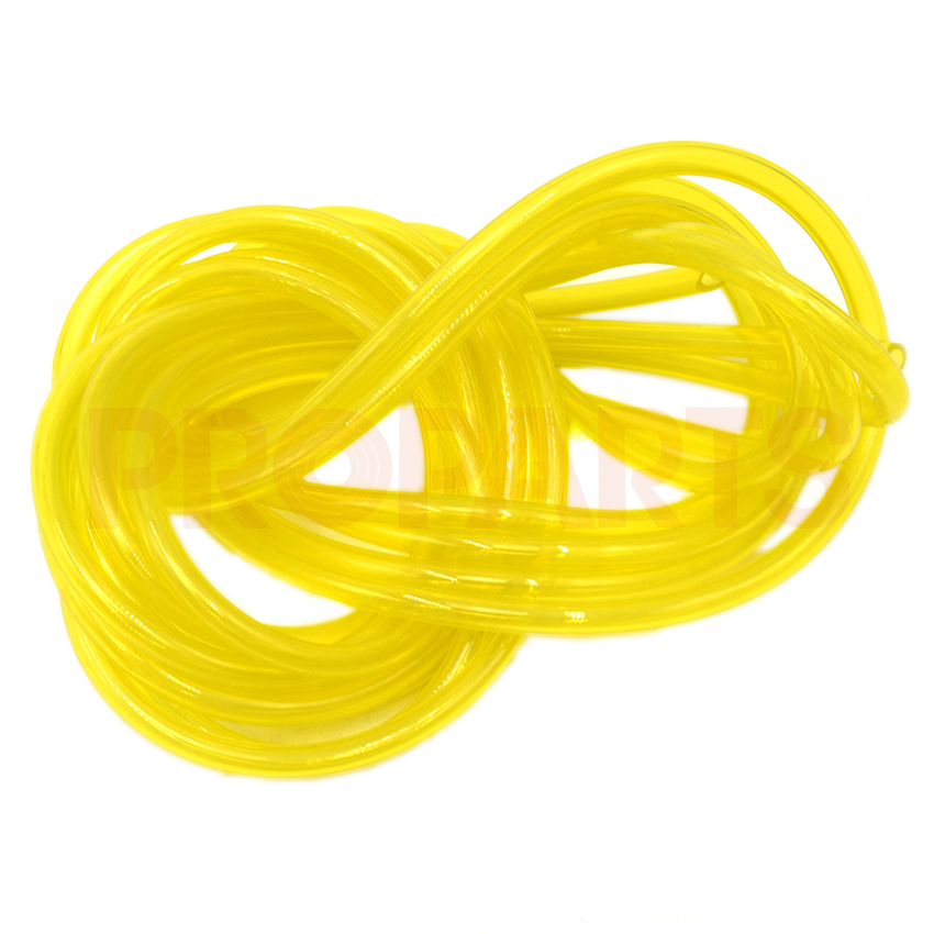 2.5mm 5mm Length  I.D 3/32 x O.D 3/16 Fuel Gas Line Pipe Hose For Trimmer Chainsaw Blower 3/32 3/16 6617 fuel gas line pipe hose for poulan craftsman weedeater 530069216 trimmer chainsaw blower yellow fuel line 2 5mm x 10m