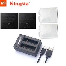 Originele Mijia Batterij KingMa Originele Dual Batterijen Lader/Opladen Case Voor Xiaomi Mijia 4K Mini Actie Camera Accessoires