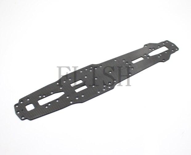 D1RC DRR 01 1/10 Rear Drive Drift Car Vehicle Carbon Fiber Chassis Car Accessories Parts S128411