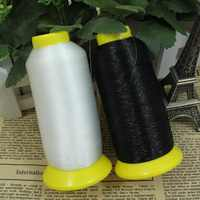 100% NYLON 4000 meters 0.12M transparent /black Sewing thread invisible thread for label crafts bags Blindstitch Quilting Beads