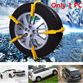 1PC Car Winter Tyres Wheels Snow Chains For Cars/Suv Car-Styling Anti-Skid Chains Snowblower Thicken TPU Outdoor Safety Tools