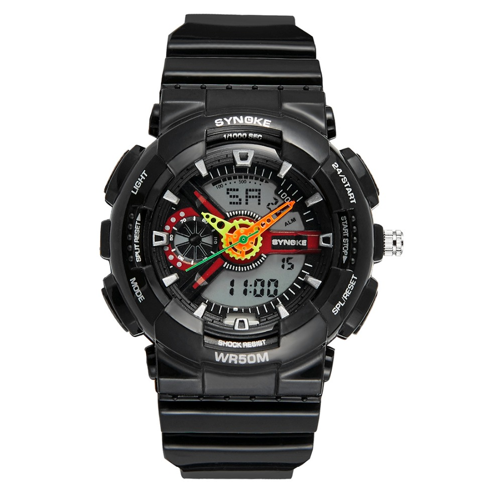 New Digital Wristwatches Timer Sport Kids Watches Alarm