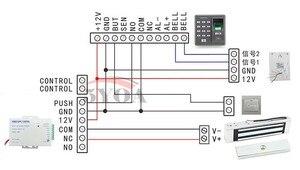Image 3 - Access Control Elektro Magnetische Türschloss 180 kg 350lbs 12 v Elektrische Schloss Haltekraft Hohe Qualität