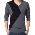 Men Casual Long Sleeve T Shirt Mens T-shirt Men's Tee Tops Plus size 5XL tshirt brand clothing