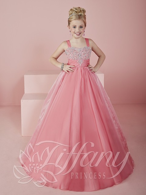 Elegant First Communion Dresses For Girls Ball Gown Beaded Lace Pink Flower  Girl Dresses For Weddings 87c62cafd8b9