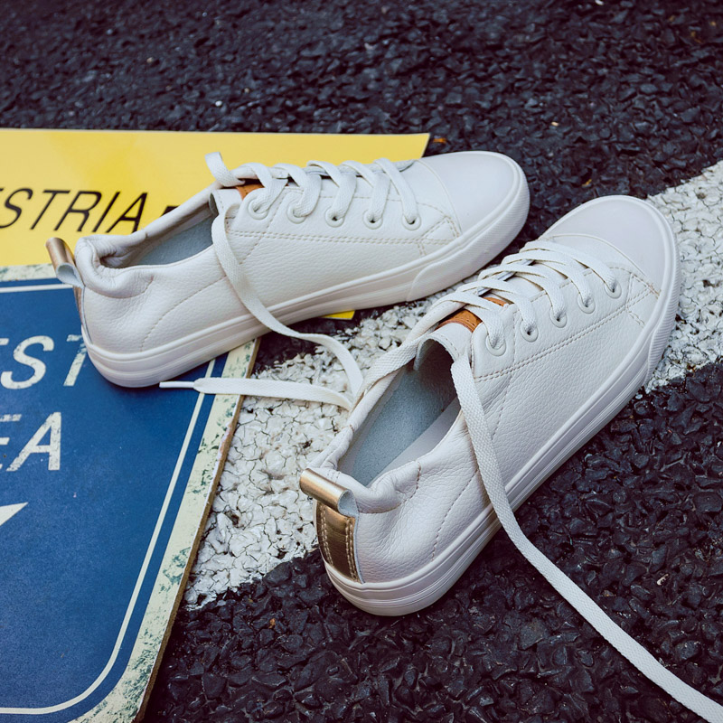 Shoes Woman SALES New Fashion Women Shoes Casual High Platform Solid Color PU Leather Women Casual White Shoes SneakersShoes Woman SALES New Fashion Women Shoes Casual High Platform Solid Color PU Leather Women Casual White Shoes Sneakers