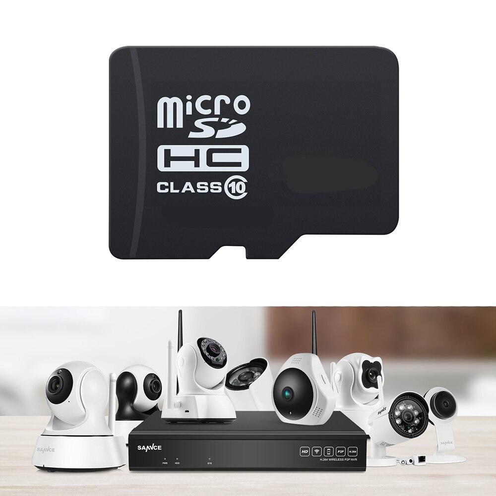 SANNCE Professionnel C10 8/16/32/64 Gb Micro Sd Carte Pour SANNCE 720 P 960 P 1080 P Caméras IP Pour Local De Stockage Vidéo