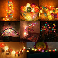 20 pcs LED Rattan Ball String 3M Christmas Multiclolor Ball Light Romantic DIY Home Decoration Garland Festas Wedding Party