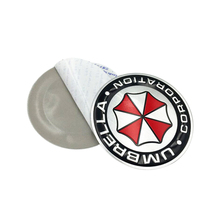 3D Aluminum Sticker Umbrella Corporation  2 Type For ford focus bmw mazda opel toyota car-cover For Motorcycle Car