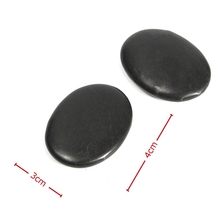 12pcs/set Natural Energy Massage Stone Set Hot SPA Rocks Basalt Stone 3*4cm Size Therapy Stone Pain Relief Health Care Tool