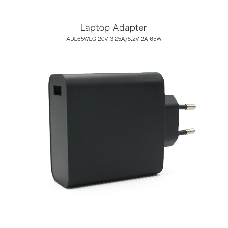 New Arrival Portable USB AC Adapter 20V 3.25A 65W ADL65WLG 5A10J40358 Laptop Charger For Lenovo Yoga 3 Pro Ultrabook EU Plug hot sale eu plug 85w replacement ac adapter straight peen for apple macbook pro laptop