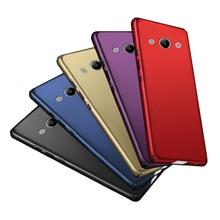 Fashion Luxury Case For Huawei Y3 2017 360 Full Nice Hard Back Plain Cover Phone Fundas Capa