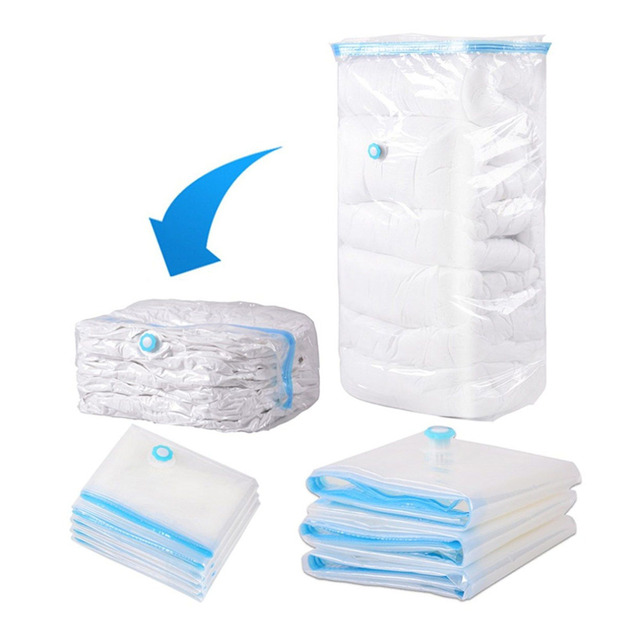 Home Use Household Large Space Saver Saving Storage Bag Vacuum Seal Compressed Organizer 5 Size With