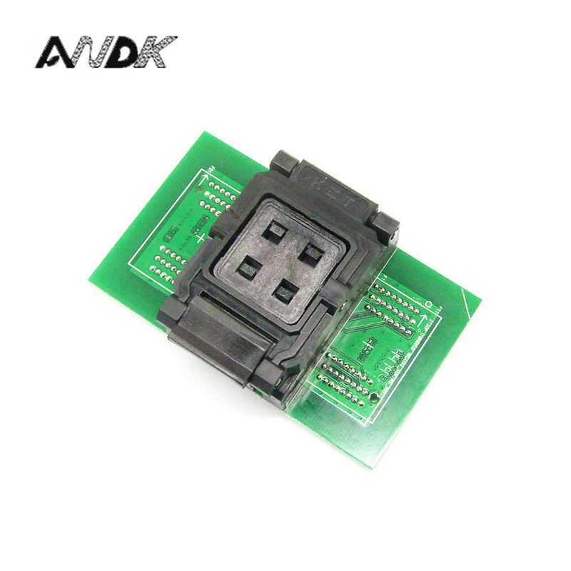 BGA132/BGA152 Test Socket to DIP96 adapter for SSD 8CE test ClamShell socket BGA152 Flash Memory Burn In Test IC Size optional free shipping sop32 wide body test seat ots 32 1 27 16 soic32 burn block programming block adapter