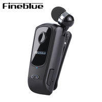 FineBlue Professional In Ear Bluetooth Earphone High Fidelity Sound Quality Metal Heavy Bass Business Wireless Earphone