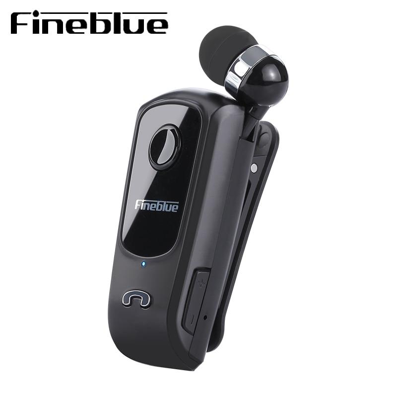 FineBlue Professional In Ear Bluetooth Earphone High Fidelity Sound Quality Metal Heavy Bass Business Wireless Earphone