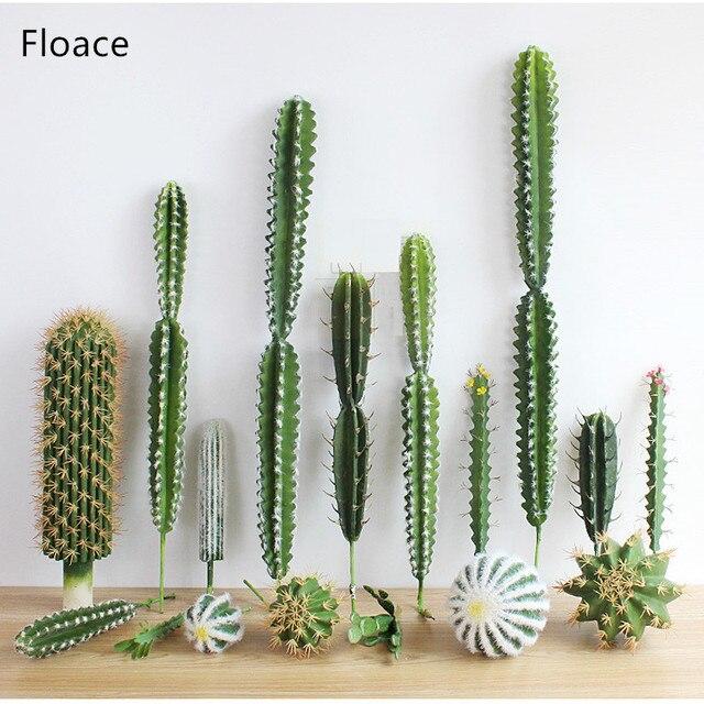 1 шт. искусственный суккуленты кактус растения бонсай Desert искусственные растения для таблицы сад украшения дома