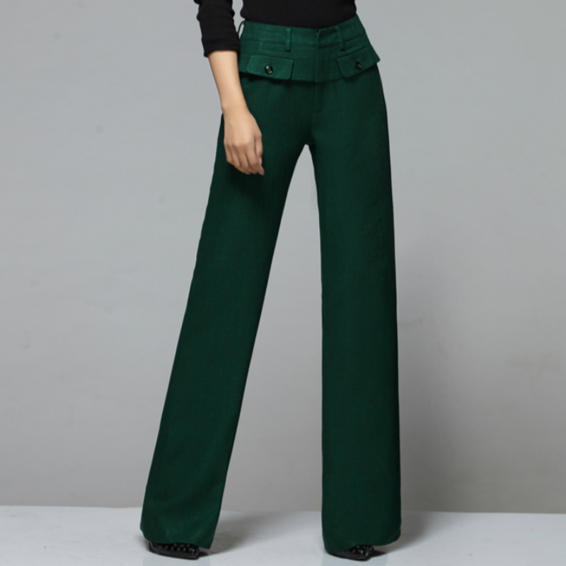 2018 new spring and autumn Fashion casual plus size solid black white female women girls wide leg pants trousers clothes 79112
