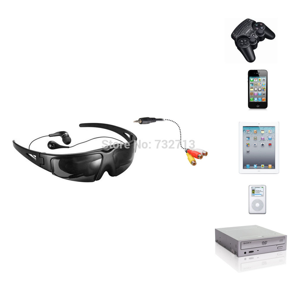 49c751f2712 320k Pixels Mobile Theater 52 inch Virtual Screen Eyewear Mobile Theatre Goggles  Video Glasses for FPV-in Video Glasses from Consumer Electronics on ...