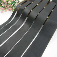 Strap-Tape Backpack Harness Fibre-Webbing Dog-Collar Polyester Ribbon-Band Black Outdoor