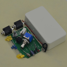 DIY musical instruments Guitar Effect Pedal Boost True Bypass  Kits with aluminum white 1590b box W