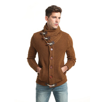 2018 Men Fashion Brand Knitted Cardigan Mens Sweaters Mens Wool Sweater Knitted Sweaters 3 Colors Good