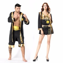 happy island adult boxers halloween cosplay costumes for women men couple clothes