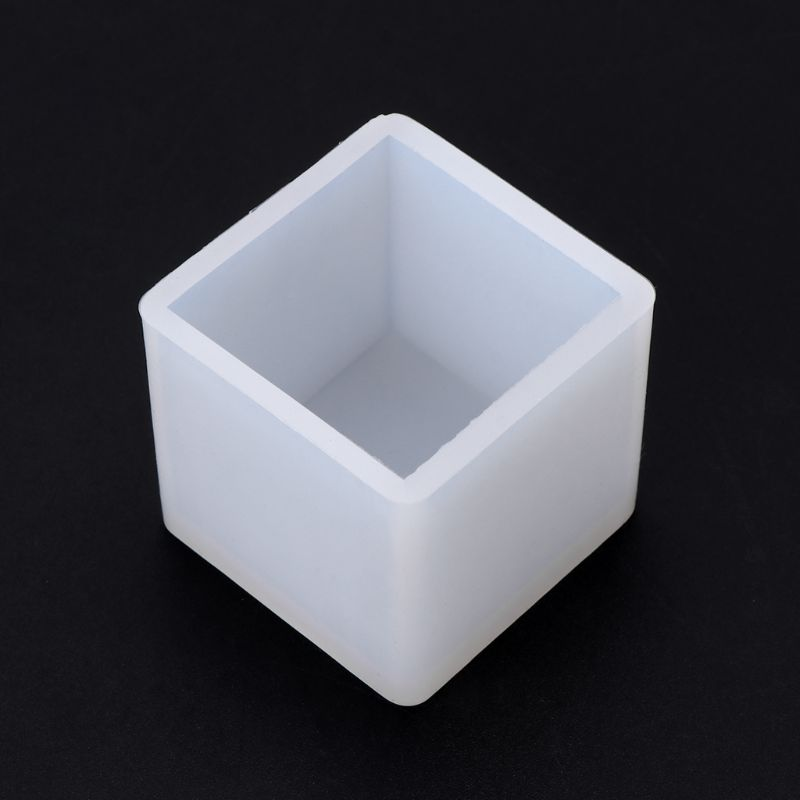Silicone Mold 3D Cube DIY Desk Decoration Jewelry Making Pendant Tools Handmade Gifts Crafts Epoxy Resin Molds 40mm