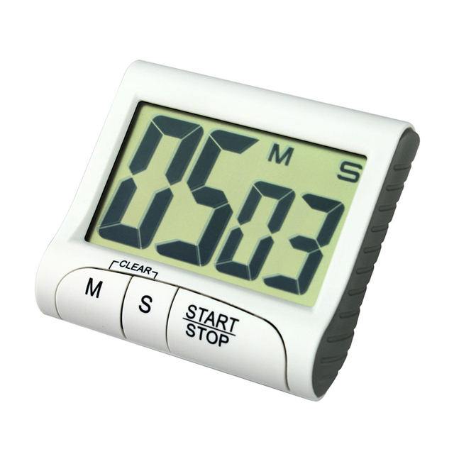Magnetic large digital LCD display kitchen countdown timer ...