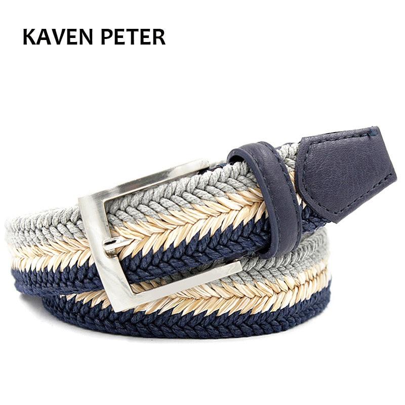 Fashion Accessories Cummerbund Braided Wax Rope Long Men Trendy Belts Without Holes 140 Cm Weave Leather Belts For Men 150 Cm