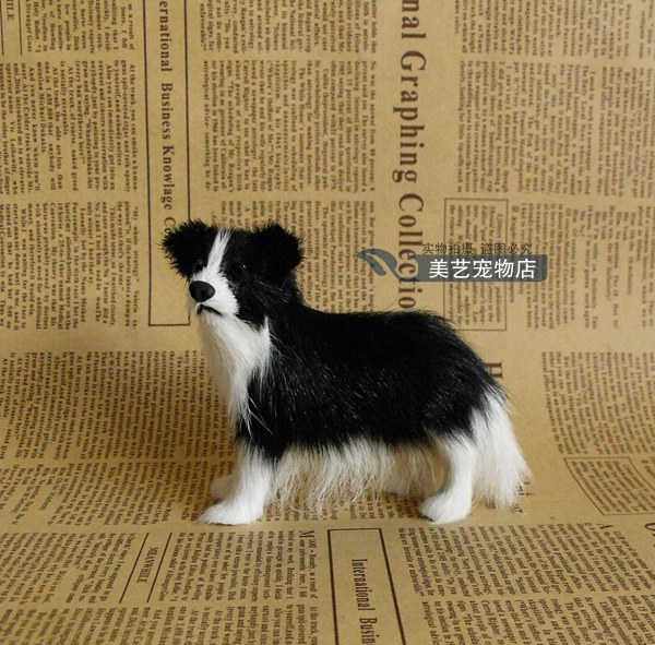 Mini Cute Simulation Shepherd Dog Toy