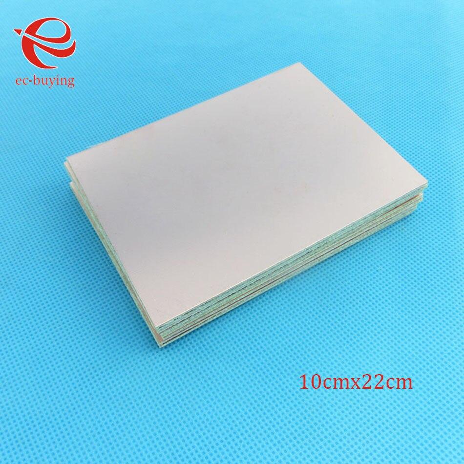 5 Pcs Lot Copper Clad Laminate Double Side Plate Ccl 20x30cm 15mm Pcb Printed Circuit Board Diy Fr4 10 X 15cm One Single Ccl10x20cm14mm Bakelite Universal