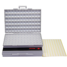 AideTek BOXALL Caja caja 4 SMD SMT surface mount 0805 0603 0402 de almacenamiento de componentes BOXALL2