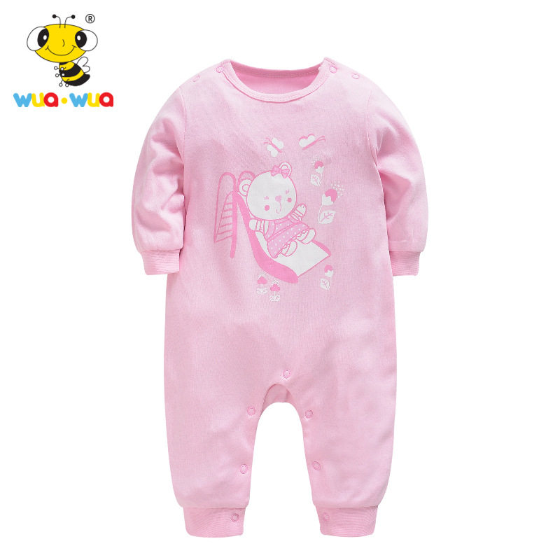 Baby Girl Clothes 2018 New Newborn Clothes Baby Cotton Girls Romper Long-sleeve Baby Product Baby Rompers Toddler Clothing