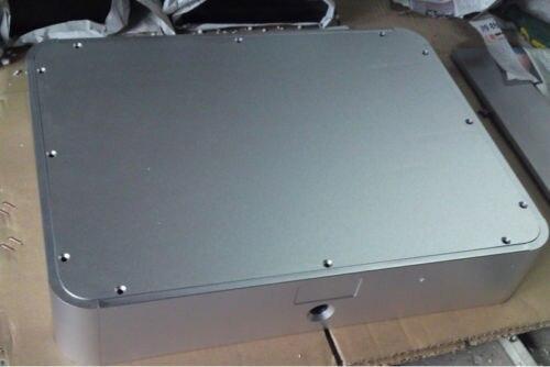 4308 полный алюминиевое шасси корпус для предусилитель/ламповый усилитель/ЦАП 430*80*330 мм