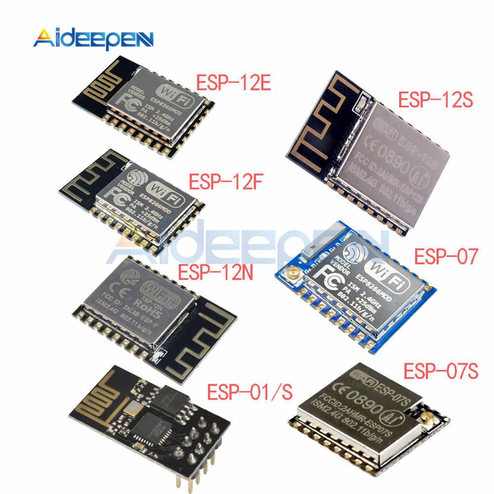 ESP-12E//ESP-12F//ESP-01//01S ESP8266 CH340 CP2102 Wireless WIFI Development Module