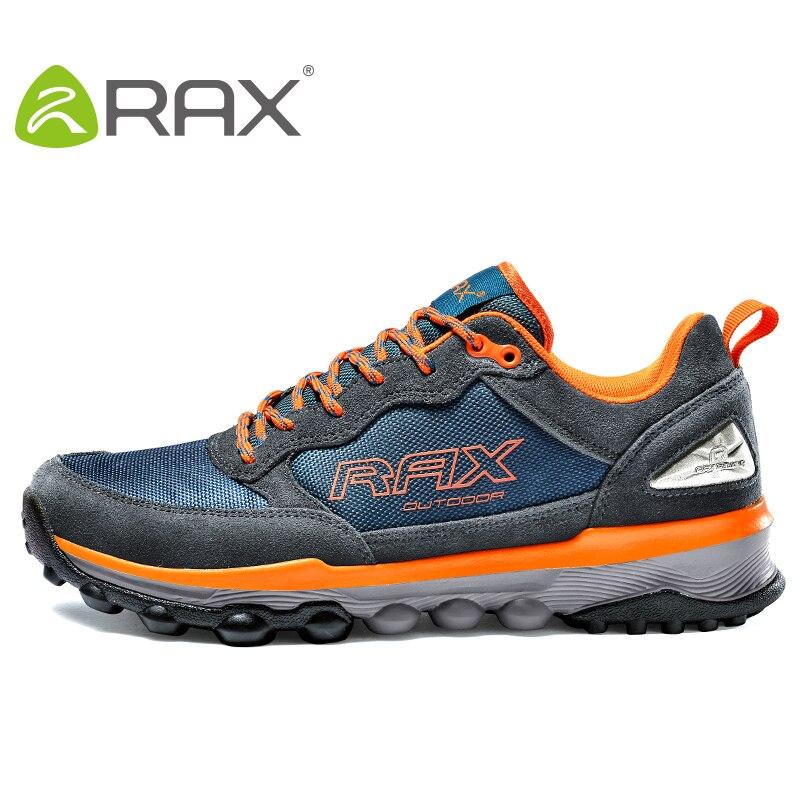 RAX hommes femmes chaussures de sport de plein air respirant chaussures de randonnée Trekking femme baskets chaussures de marche en plein air chaussures de randonnée chaudes hommes