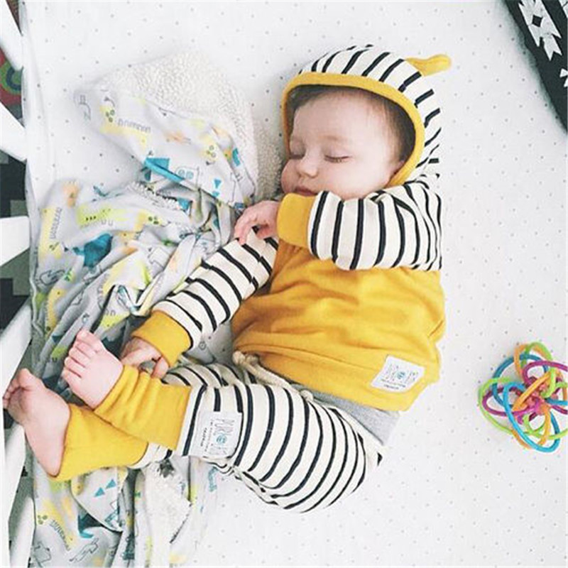 pudcoco baby boys clothing set autumn pants winter clothes