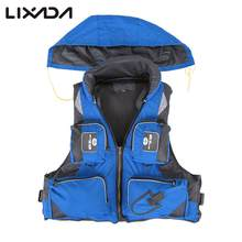 Outdoor Fishing Vest Unisex Adult Safety Life Jacket For Water Sports Drifting Boating Sailing Kayak Survival Swimwear(China)