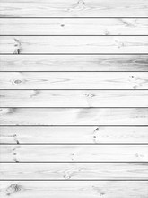 HUAYI Vintage White Wood Planks Backdrop Wooden Floor Art Fabric Newborn Backdrop D-1432(China)