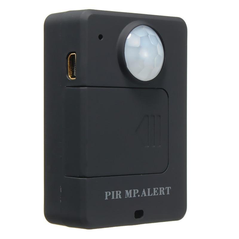 bilder für Mini schwarz wireless motion gsm alarm gaserkennungs-überwachung infrarot sensor pir mp high empfindlichkeit langlebige qualität