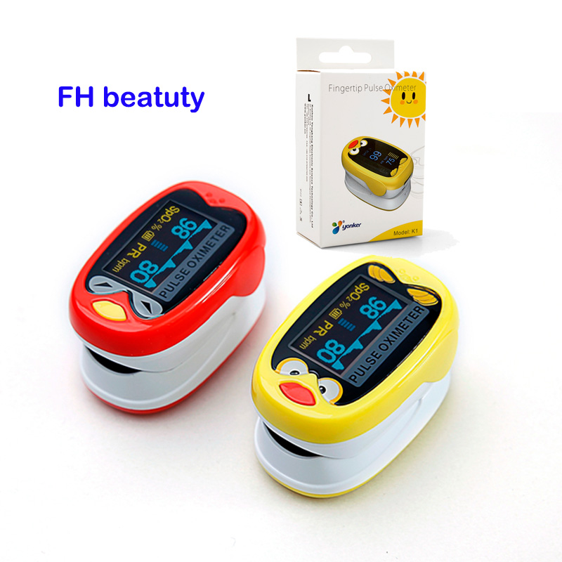 gyermek gyerekek Finger Pulse Oximeter gyermek / gyermek oximetro - Egészségügyi ellátás