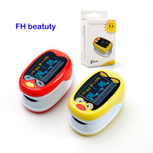 barn barn Finger Pulse Oximeter for Pediatrisk / Child Oximetro Pulsoximeter Medisinsk Infant De Dedo SpO2 Metningsmeter