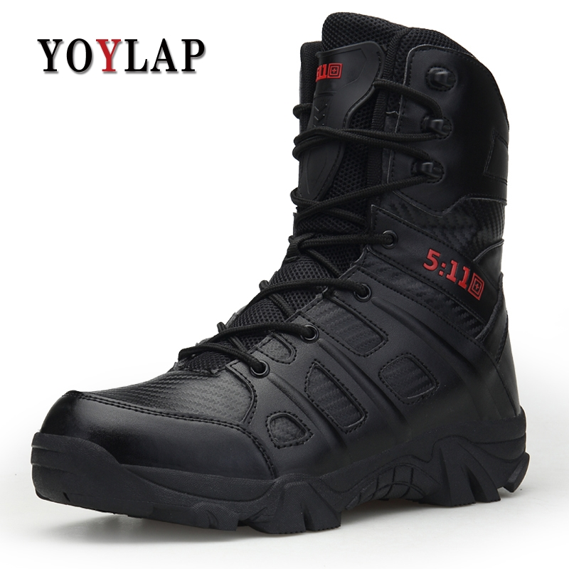 2018 Men Winter Shoes 511 Tactical Military Combat Boots men's Desert Special Delta Force Army Boots Men Work Snow Boots Luxury