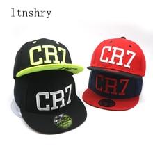 wholesale child hats Fashion Children Ronaldo CR7 Neymar NJR Baseball Cap  Hip Hop Caps Boys Girls Kids Snapback Hats Gorras