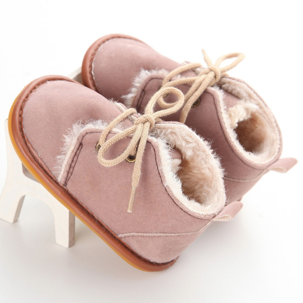 TELOTUNY Shoes Prewalker Toddler Infant Snow-Boots Rubber-Sole Baby Cotton S3FEB24 Comfortable