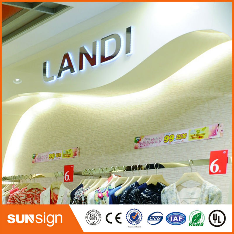 Wholesale High Brightness Led Acrylic Letters Backlit Signs