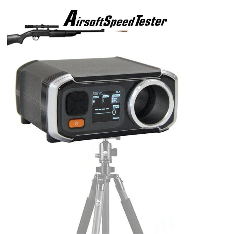 Airsoft AC6000 лучше, чем X3200 съемки Хронограф Скорость тестер с Pixel OLED кадров в секунду Chrono HT7-0003