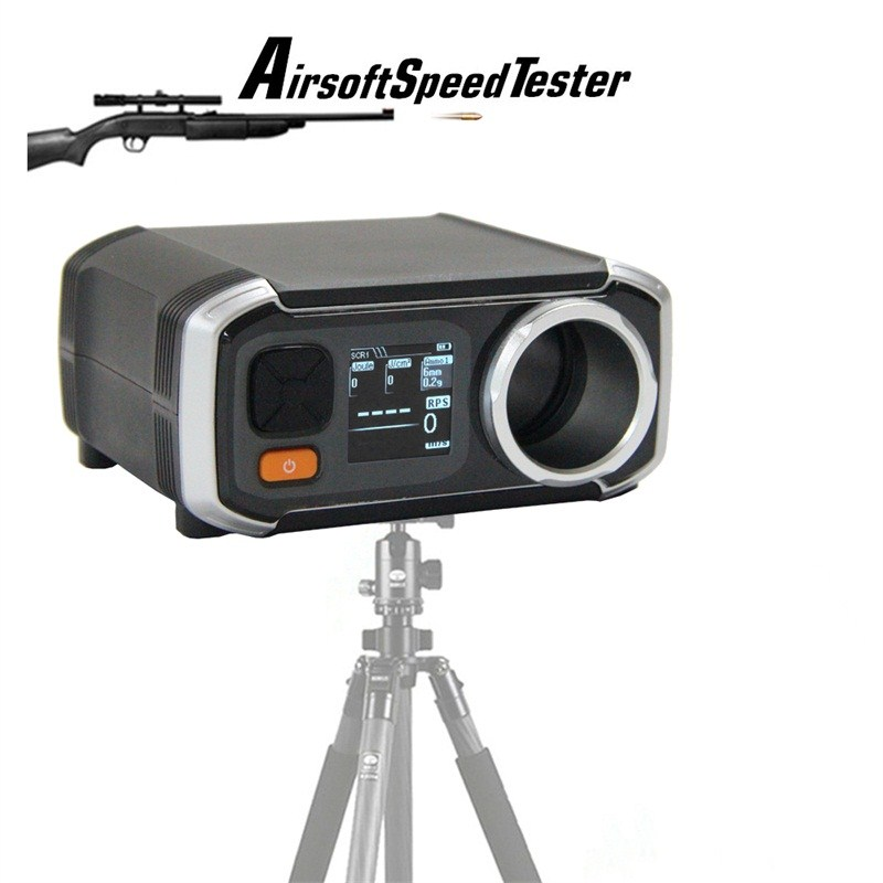 Airsoft AC6000 Better Than X3200 Shooting Chronograph Speed Tester with Pixel OLED FPS Chrono HT7-0003Airsoft AC6000 Better Than X3200 Shooting Chronograph Speed Tester with Pixel OLED FPS Chrono HT7-0003